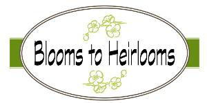 Blooms to Heirlooms, Logo